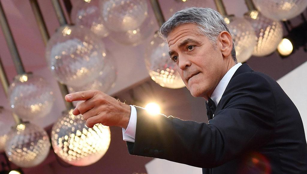 George Clooney, 6 de mayo