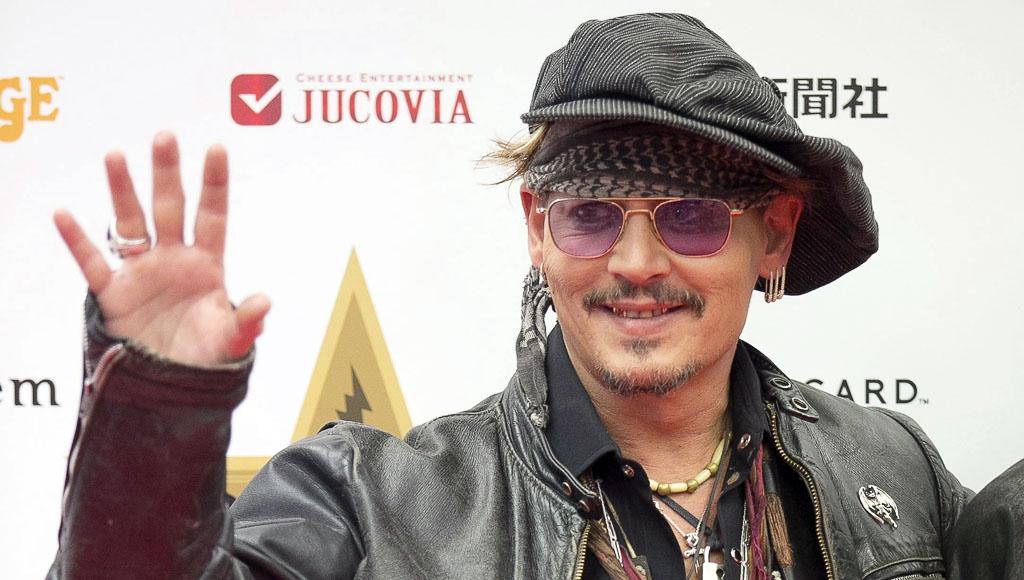 Johnny Depp, 8 de junio