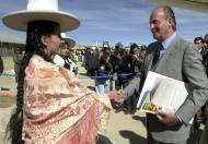 Juan Carlos I: América