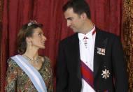 Felipe VI y Letizia: Gala
