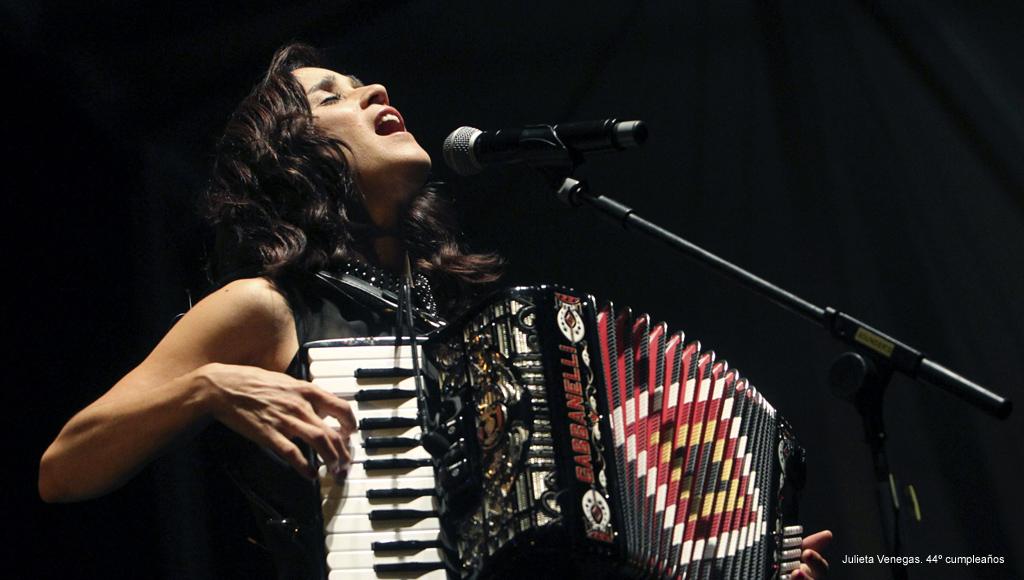 Cumpleaños Julieta Venegas