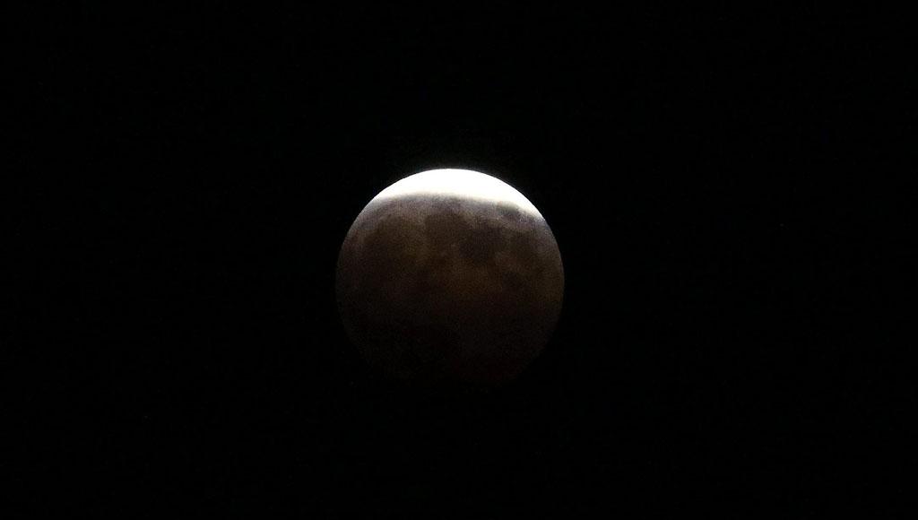 Eclipse total de luna (31 de enero)