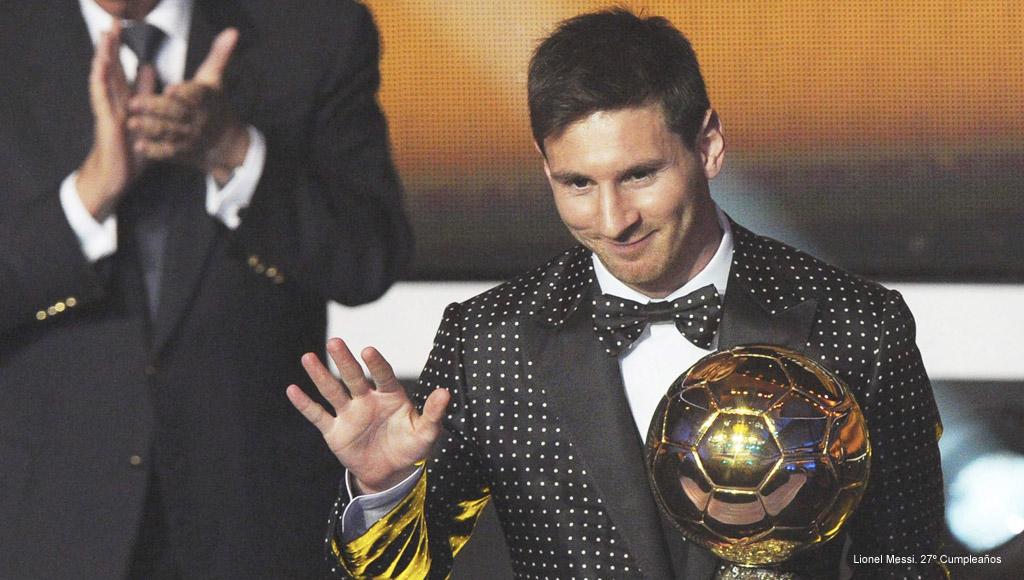 Cumpleaños Lionel Messi