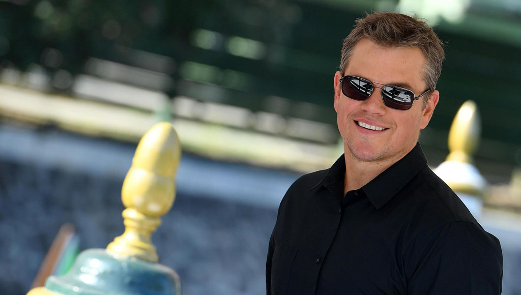 47 cumpleaños de Matt Damon (8 de Octubre)