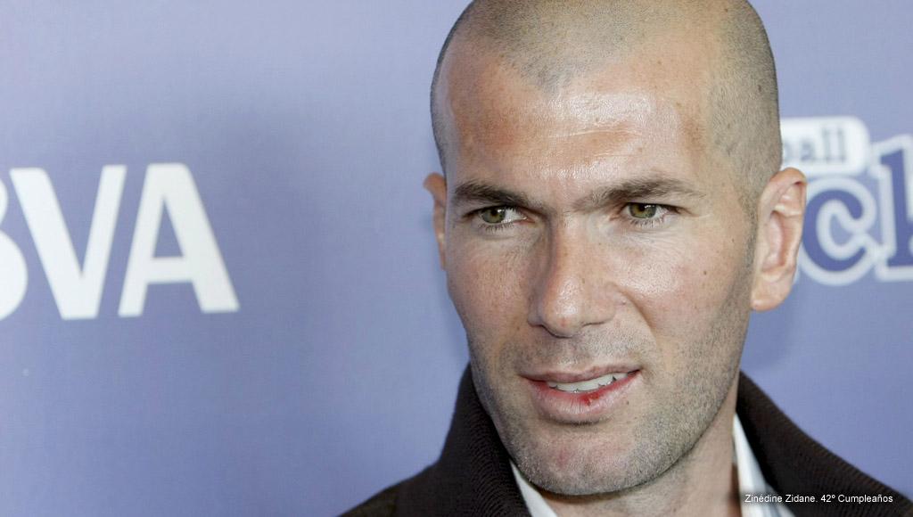 Cumpleaños Zinédine Zidane