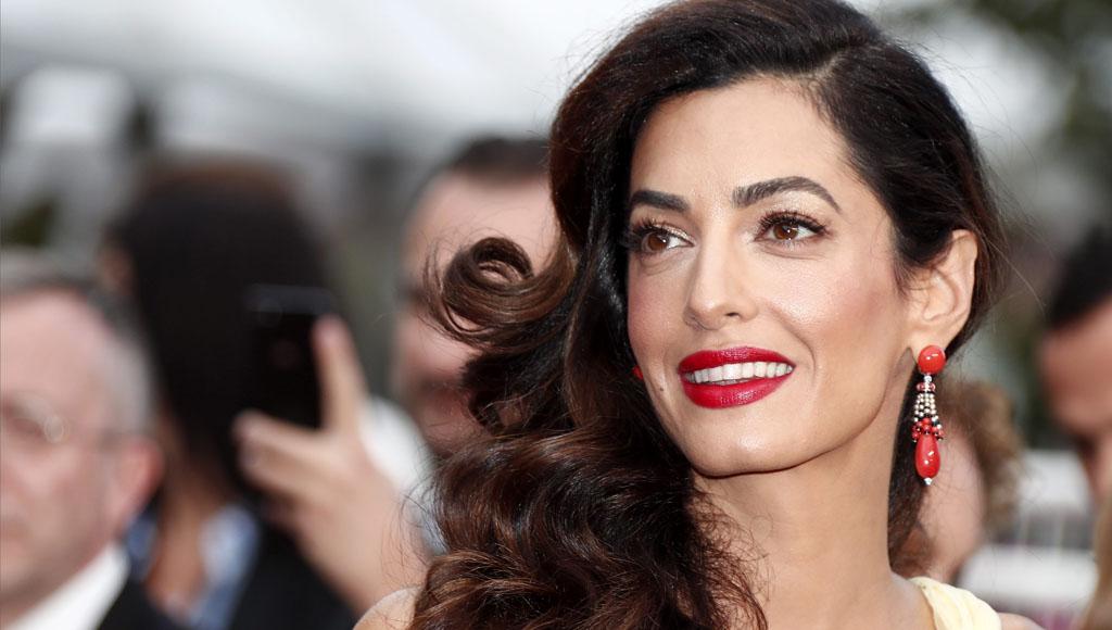 Amal Clooney cumple 40 años (3 de febrero)