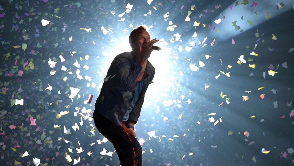40 cumpleaños de Chris Martin (líder de la banda británica Coldplay)