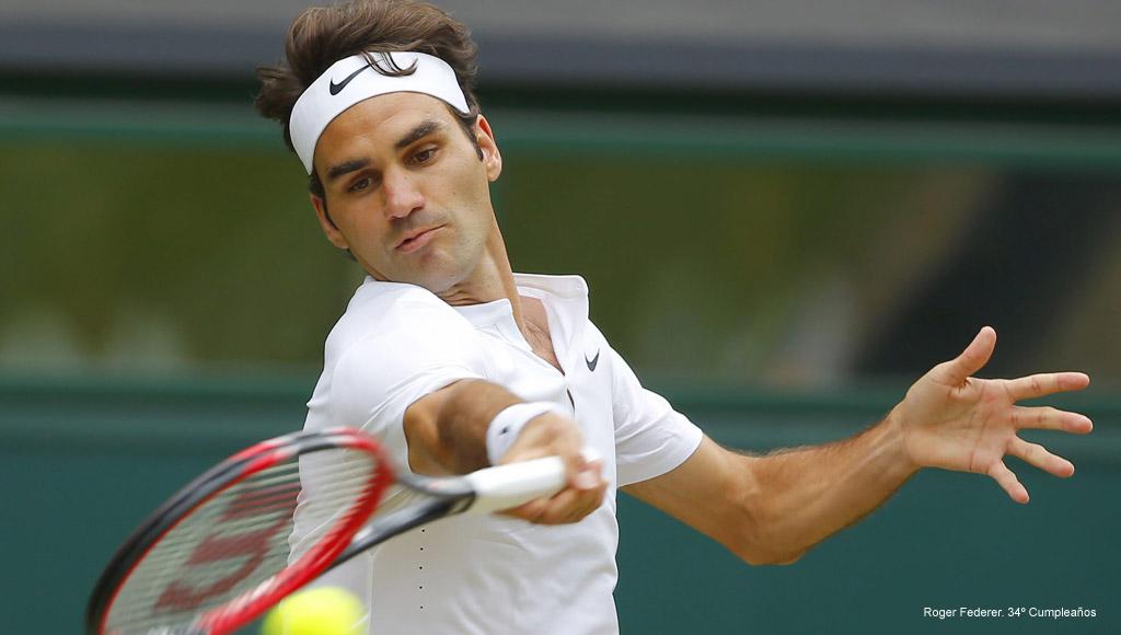 Cumpleaños Roger Federer