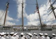 15-08-1943: Se inaugura la Escuela Militar naval de Marín