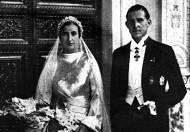 12-10-1935: Boda J. de Borbón y Mª Mercedes